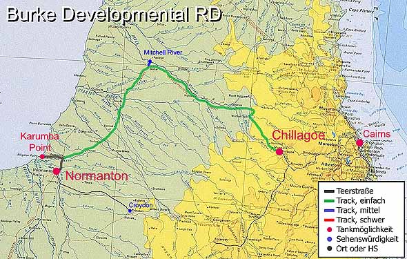 MudMap: Burke Developmental Road