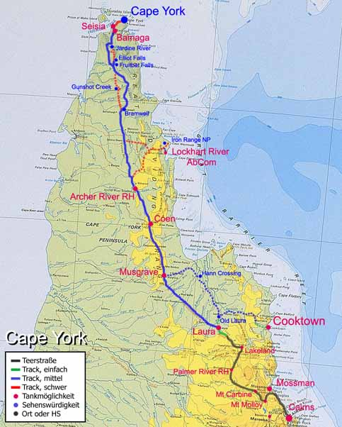 MudMap: Cape York: Bypass Road