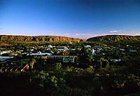 Abendstimmung in Alice Springs, NT