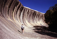 Wave Rock bei Hyden, WA