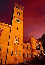 Winthrop Hall Clock Tower